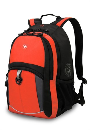 рюкзак , оранжевый/черный/серый, полиэстер 600D/2 мм рипстоп/фьюжн, 33x15x45 см, 22 л / Wenger - фото 5955