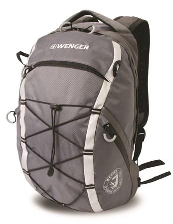рюкзак , серый, полиэстер 900D, 29х19х47 см, 25 л / Wenger - фото 5965