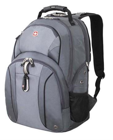 рюкзак , серый/серебристый, полиэстер 900D/М2 добби, 34x16x48 см, 26 л / Wenger - фото 5974