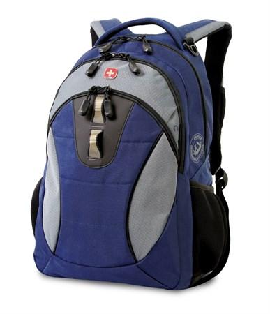 рюкзак , синий/серый, полиэстер, 32х15х46 см, 22 л / Wenger - фото 5991