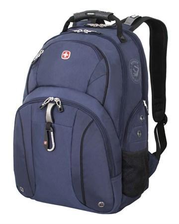 рюкзак , синий/чёрный, полиэстер 900D/М2 добби, 34x16x48 см, 26 л / Wenger - фото 5999