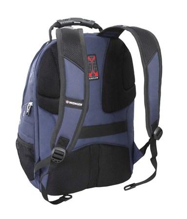 рюкзак , синий/чёрный, полиэстер 900D/М2 добби, 34x16x48 см, 26 л / Wenger - фото 6000