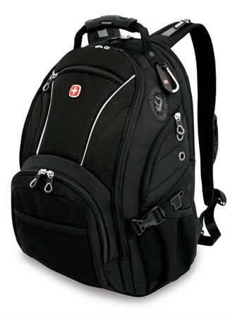 рюкзак , синий/чёрный, полиэстер 900D/М2 добби, 36x19x47 см, 32 л / Wenger - фото 6001