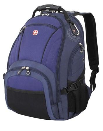 рюкзак , синий/чёрный, полиэстер 900D/хонейкомб, 35x19x44 см, 29 л / Wenger - фото 6008