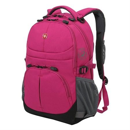 рюкзак , сливовый, 2 отделения, полиэстер, 34х14х46 см, 22 л / Wenger - фото 6012