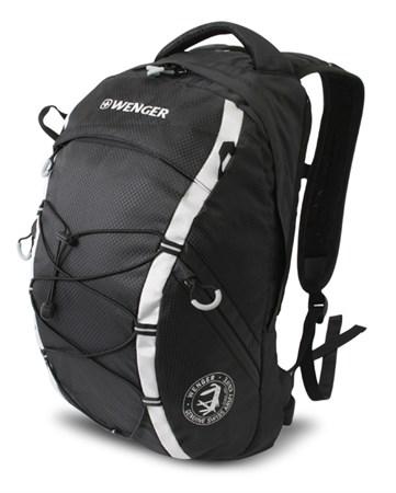 рюкзак , черный/серый, полиэстер 900D, 29х19х47 см, 25 л / Wenger - фото 6023