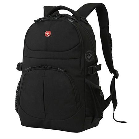 рюкзак , чёрный, полиэстер, 33х15х45 см, 22 л / Wenger - фото 6043