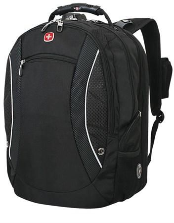 рюкзак «SCANSMART», чёрный, полиэстер, 36х23х48 см, 40 л / Wenger - фото 6098