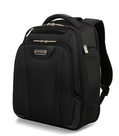 рюкзак 15'', черный, 3 отделения, полиэстер 30х16x38 см (18л.) / Wenger - фото 6102