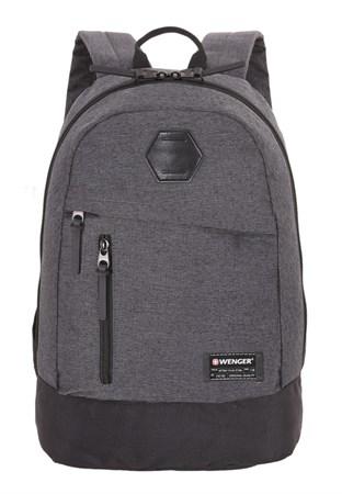 Рюкзак WENGER 13'', cерый, ткань Grey Heather/ полиэстер 600D PU , 32х16х45 см, 22 л - фото 6173