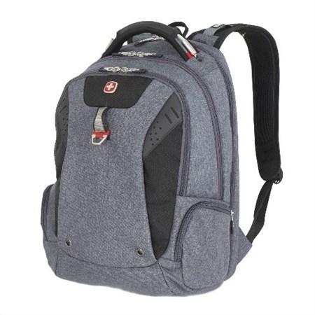 Рюкзак WENGER 15'' «SCANSMART», cерый, ткань Grey Heather/ полиэстер 600D PU , 32х24х46 см, 35 л - фото 6178