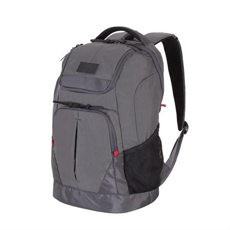 Рюкзак WENGER 19'', серый, полиэстер 900D/рипстоп, 31x19x48см, 28л - фото 6189