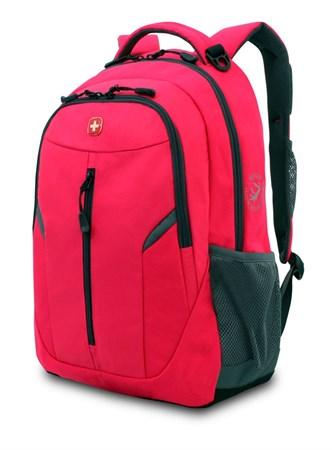 Рюкзак WENGER, розовый/серый, полиэстер 600D/420D, 32x15x45 см, 22 л - фото 6199