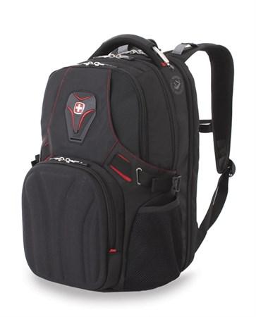 Рюкзак WENGER, черный, полиэстер 900D, 36х21х47 см, 35 л - фото 6220