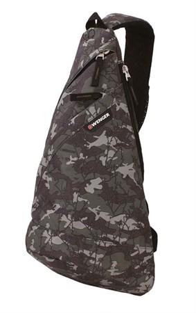 рюкзак с одним плечевым ремнем, камуфляж, полиэстер, 900D, 45х25х15 см, 17 л / Wenger - фото 6235