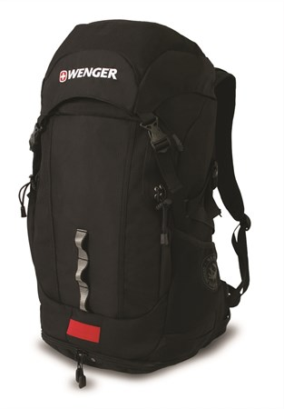 рюкзак цв. серый/черный, полиэстер , 33х25х61 см (50л.) / Wenger - фото 6243