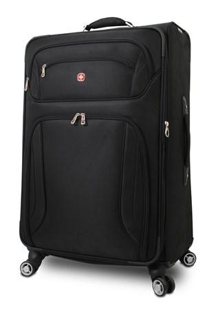 """чемодан """"Z?RICH II"""", черный, полиэстер 400*350D, 48x30x72 см, 104 л / Wenger - фото 6251"""