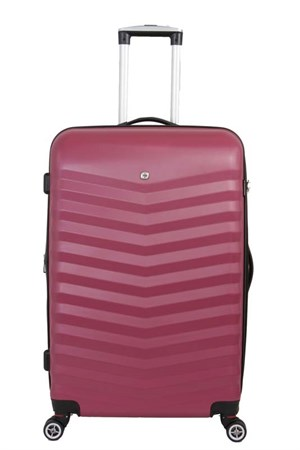 чемодан FRIBOURG, красный, АБС-пластик, 33x23x47 см, 35 л / Wenger - фото 6254