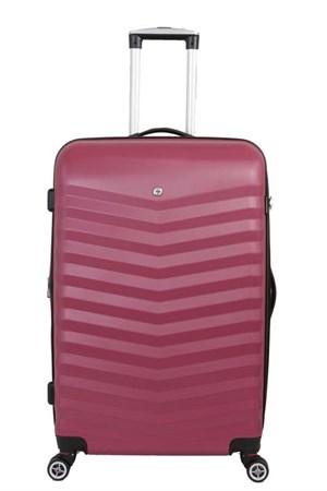 чемодан FRIBOURG, красный, АБС-пластик, 38x28x60 см, 64 л / Wenger - фото 6258