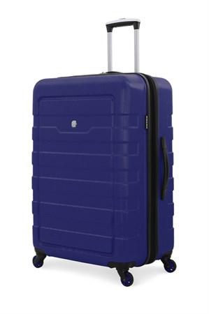 Чемодан SWISSGEAR TRESA, синий, АБС-пластик, 48x30x69 см, 100 л - фото 6306