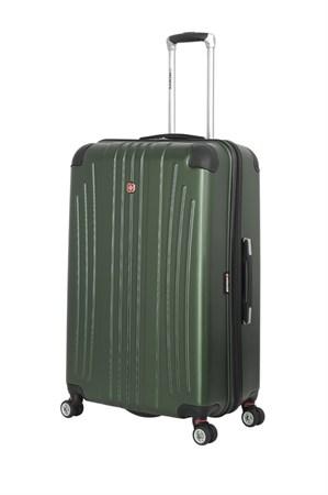 Чемодан WENGER Ridge, цвет зелёный , АБС-пластик, 47х30,5х75 см , 92л - фото 6323