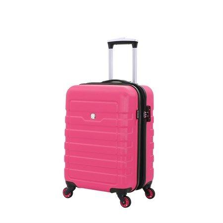 Чемодан WENGER TRESA, розовый,  АБС-пластик, 35x24x54 см, 38 л - фото 6333