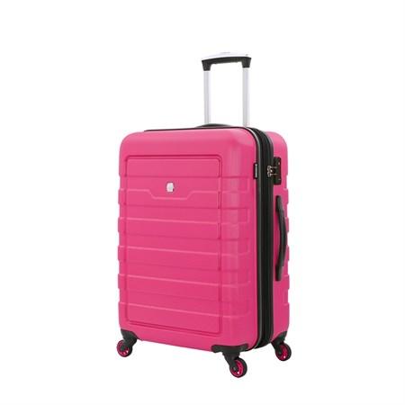 Чемодан WENGER TRESA, розовый, АБС-пластик, 46x27x66 см, 66 л - фото 6334