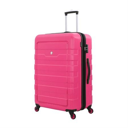 Чемодан WENGER TRESA, розовый, АБС-пластик, 48x30x76 см, 100 л - фото 6335
