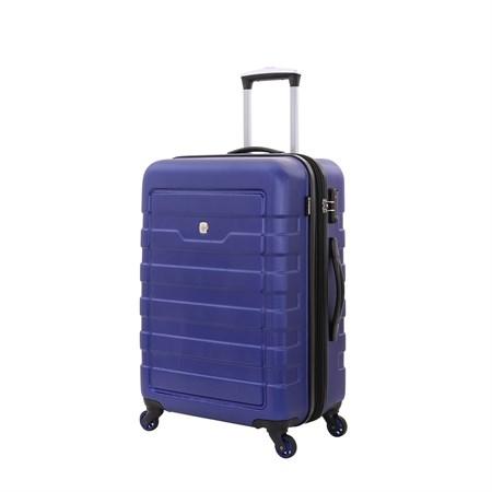 Чемодан WENGER TRESA, синий, АБС-пластик, 46x27x66 см, 66 л - фото 6340