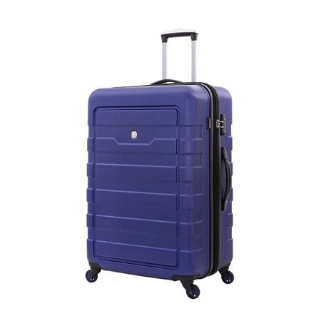 Чемодан WENGER TRESA, синий, АБС-пластик, 48x30x76 см, 100 л - фото 6341