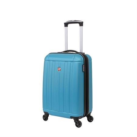Чемодан WENGER USTER, голубой, АБС-пластик, 34x22x55 см, 37 л - фото 6342