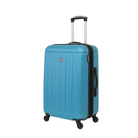 Чемодан WENGER USTER, голубой, АБС-пластик, 41x26x58 см, 62 л - фото 6343
