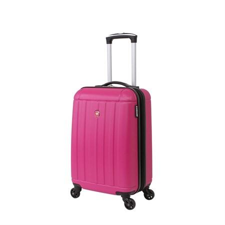 Чемодан WENGER USTER, розовый, АБС-пластик, 34x22x55 см, 37 л - фото 6344