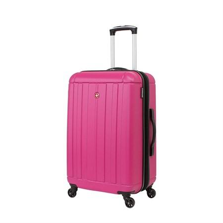 Чемодан WENGER USTER, розовый, АБС-пластик, 41x26x58 см, 62 л - фото 6345