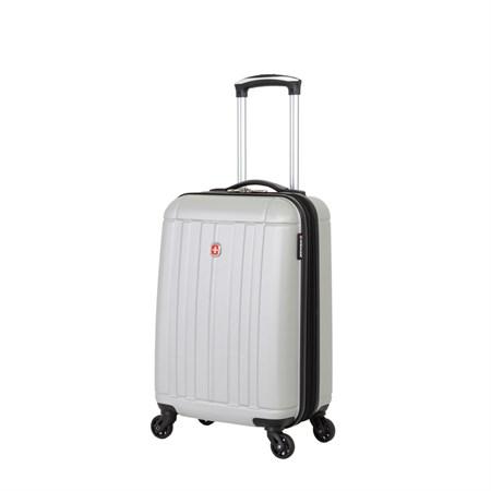 Чемодан WENGER USTER, серебристый, АБС-пластик, 34x22x55 см, 37 л - фото 6346