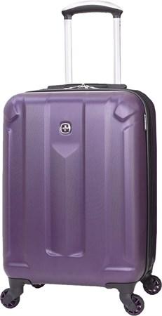 Чемодан WENGER ZURICH III, фиолетовый, АБС-пластик, 35,5x23x56 см, 34 л - фото 6350