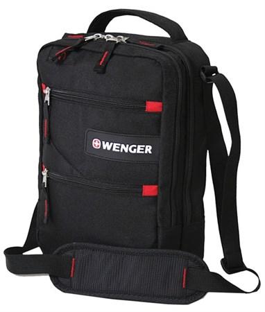 сумка-планшет , черный, полиэстер M2, 22x9x29 см / Wenger - фото 6436