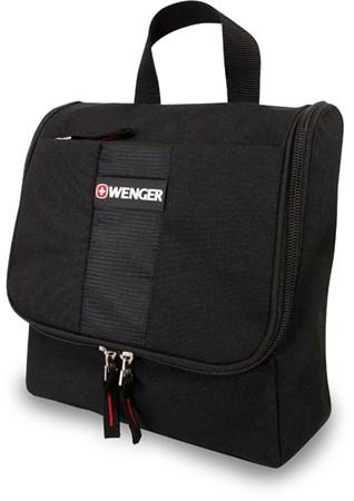 несессер , черный, полиэстер, 22х8х24 см / Wenger - фото 6450