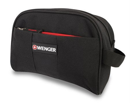несессер , чёрный, полиэстер, 20х7х16см / Wenger - фото 6453
