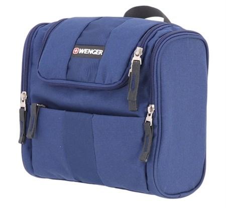 Несессер WENGER, синий, полиэстер, 26х7х23 см - фото 6465