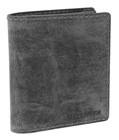 портмоне Arizona, черный, воловья кожа, 11х2х14 см / Wenger - фото 6501