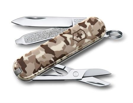 Нож-брелок Victorinox Desert Camouflage LE 0.6223.941 - фото 6777