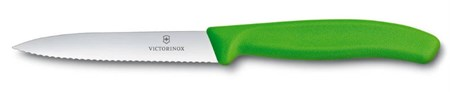 Кухонный нож Victorinox для овощей и фруктов 6.7736.L4, 10 см - фото 6810