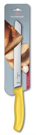 Кухонный хлебный нож Victorinox 6.8636.21L8B, 21 см - фото 6829