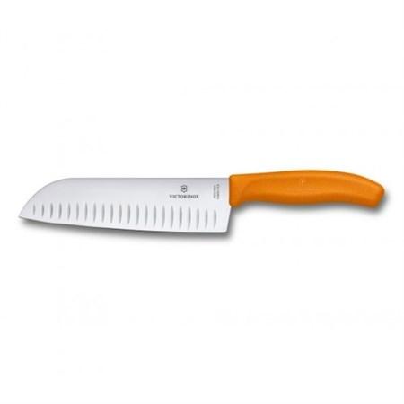Кухонный нож Сантоку Victorinox 6.8526.17L9B, 17 см - фото 7000
