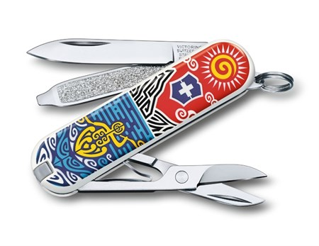 Нож брелок  New Zealand - фото 7462