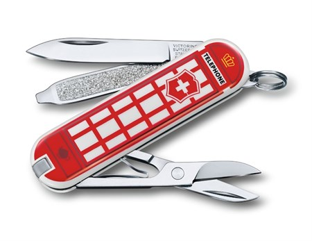 Нож брелок Victorinox A Trip to London - фото 7466