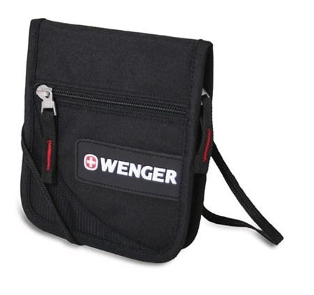 Кошелек Wenger 18312168 Neck Wallet | полиэстер | 16х14х2 - фото 7629