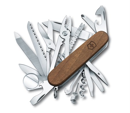 Нож Victorinox SwissChamp Wood 1.6791.63 - фото 7711