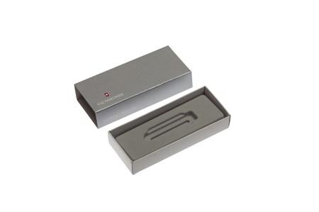 Коробка для ножей VICTORINOX 58 мм толщиной 2 и более уровней (MiniChamp), картонная, серебристая - фото 8247